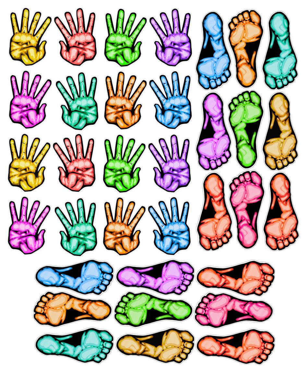 Händer & fötter