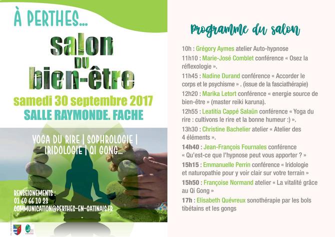 Salon du Bien être à Perthes en Gatinais - 30 sept.