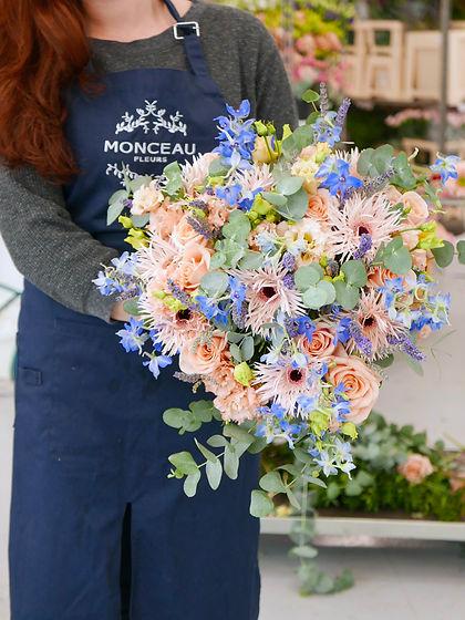 Fleuriste au bouquet Monceau Fleurs Ecol