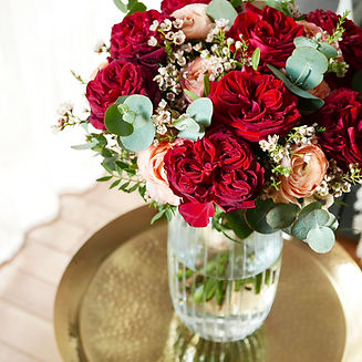 Image_LEcole Florale_bouquet rose rouge.