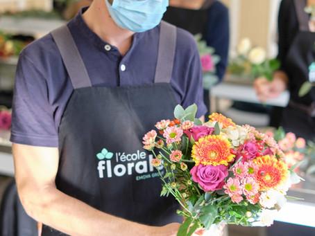 Interview de Loïc, apprenant en formation à l'Ecole Florale