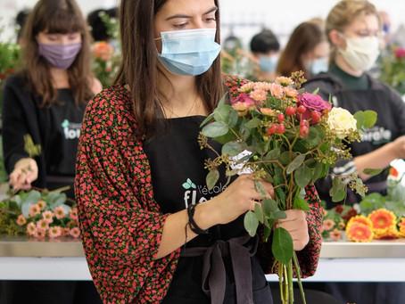 Interview de Joanne, apprenante en formation fleuriste à l'Ecole Florale