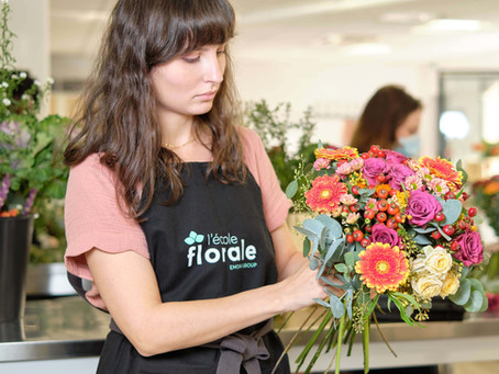 Interview de Charlotte, apprenante en formation à l'Ecole Florale