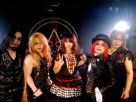 CROWLEY TOUR 2019〜地獄の国のアリス (featuring EITA)」が、いよいよ来週、5月2日(木・祝)名古屋大須 Electric Lady Landと、5月4日(土・祝)高円寺