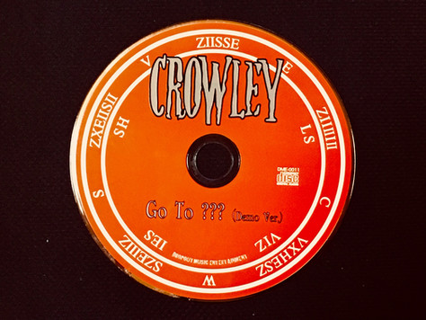 CROWLEYの新曲「Go To ???」の歌詞を公開!
