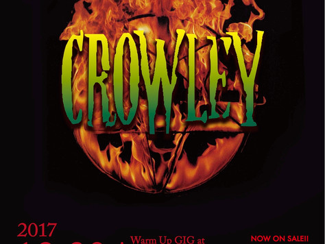 Crowley Warm Up GIG at ell. FITSALL チケット絶賛発売中!!!