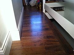 Walnut Floor Fitting Wanstead