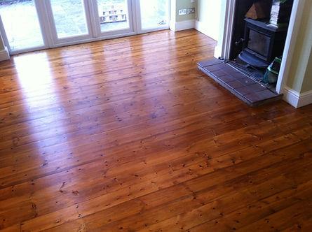 Dust free floor sanding in Chingford