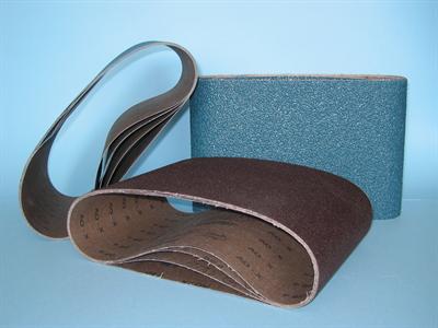 """Sanding belts 200x750 8"""" Zirconia Sait"""