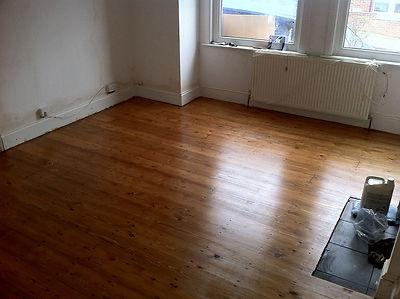 Dust free floor sanding Walthamstow