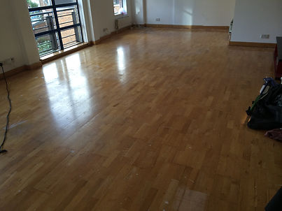 Oak Engineered floor sanding in Enfield