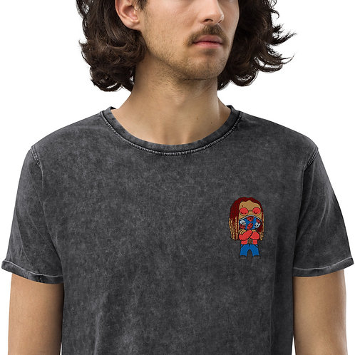 Chibi Azazus Denim T-Shirt