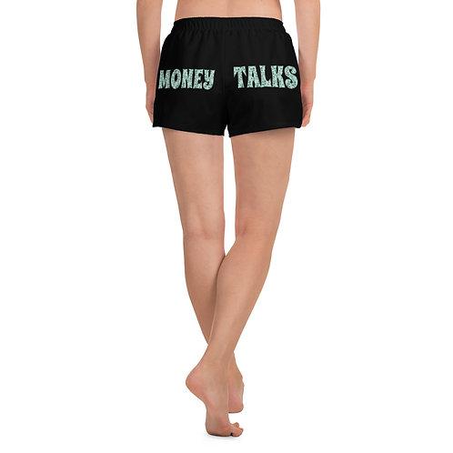 Money Talks Athletic Short Shorts