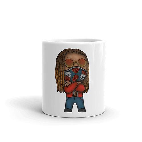 Chibi Azazus White glossy mug