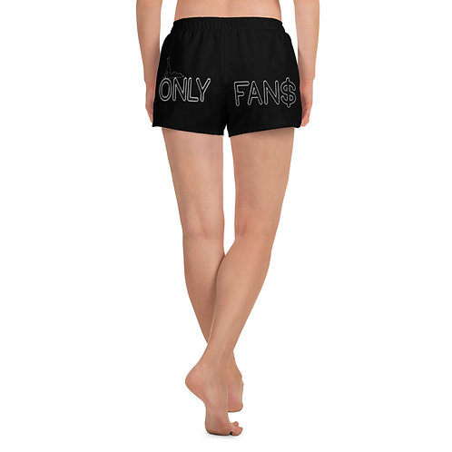 Onlyfan$ Athletic Short Shorts Black