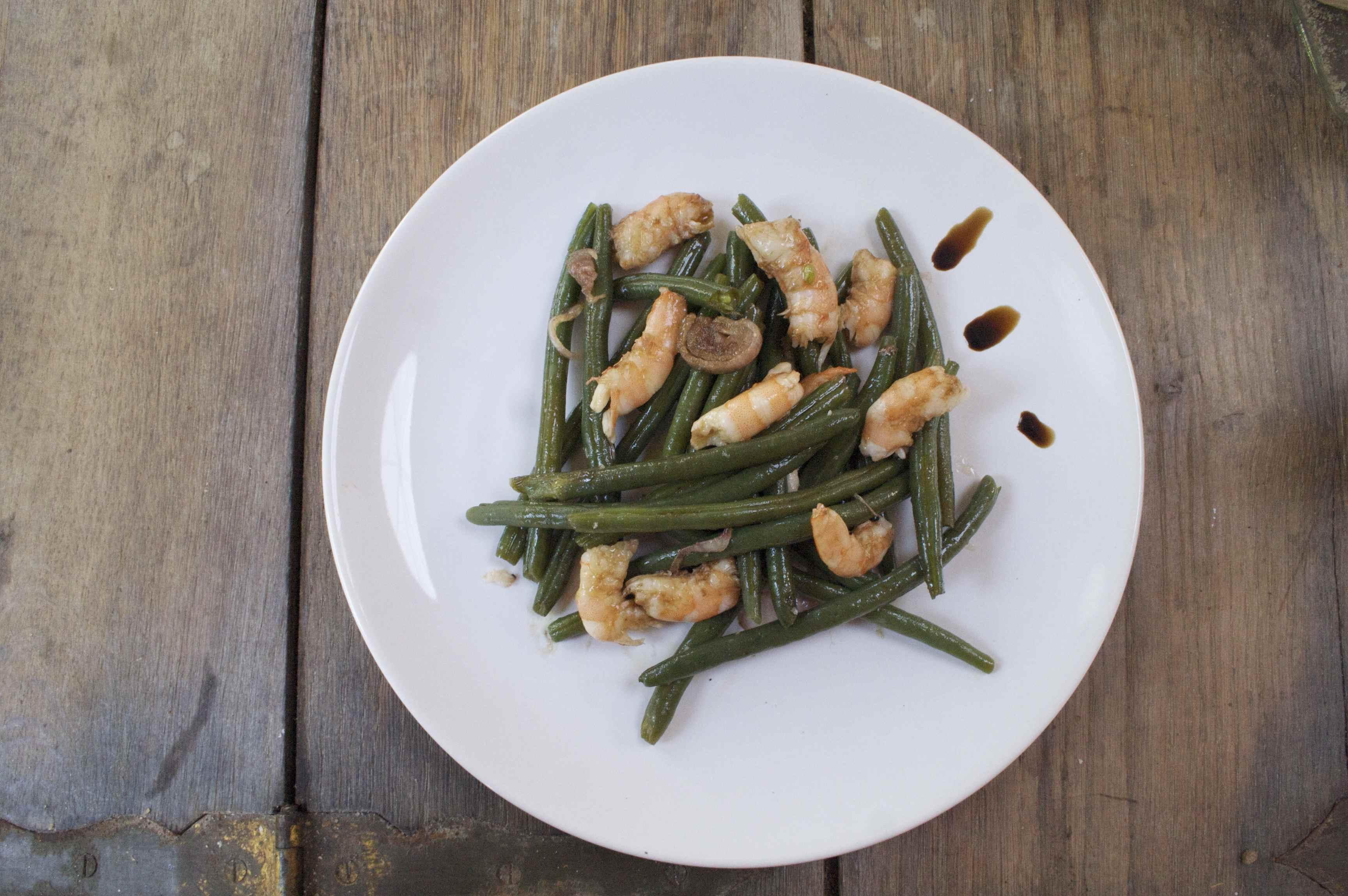 Salade de langoustines & haricots verts + sauce balsamic.jpg