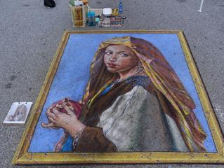 Italian Chalk Art