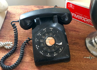 Lucky Vintage Rotary Phone!