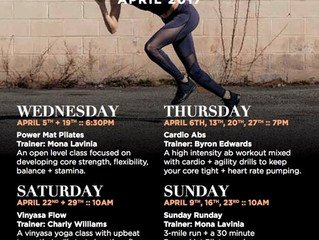 Free Fitness Classes at Union Market