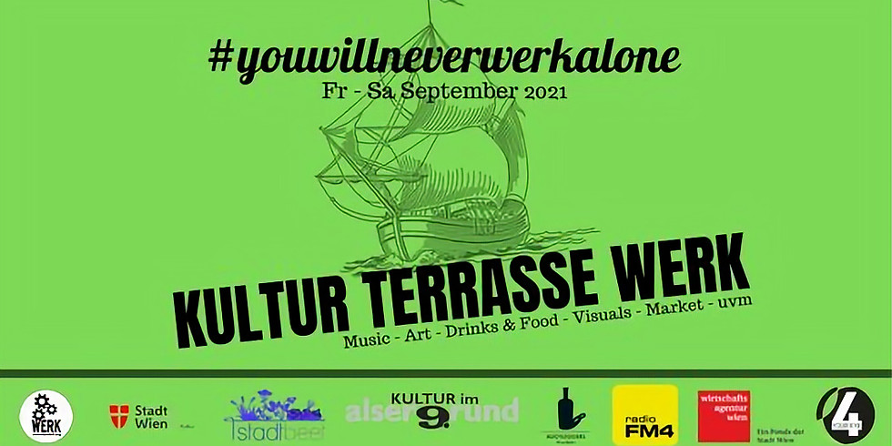 KulturTerrasse WERK #14 presented by WIENER GRANT