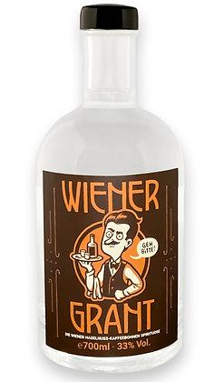 Wiener Grant - Haselnuss-Kaffeebohnen Spirituose 0,7l