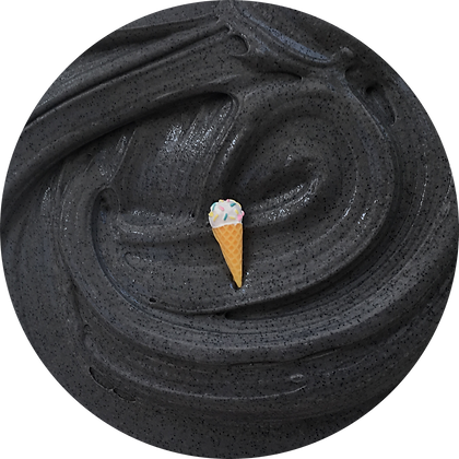 Charcoal Ice Cream - 8oz
