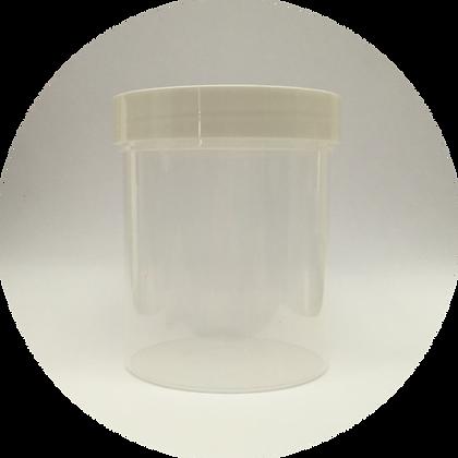 Clear Plastic Jar - 8oz