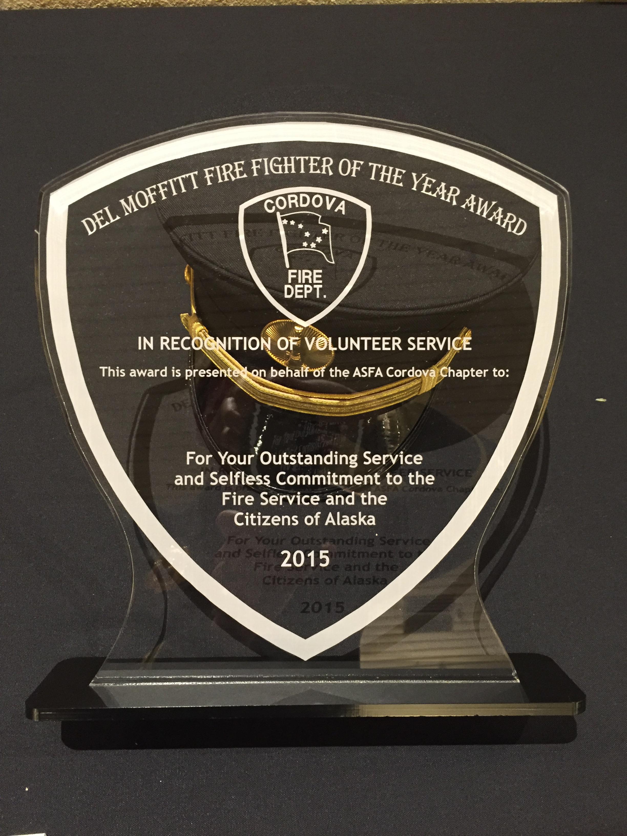 Del Moffitt Award