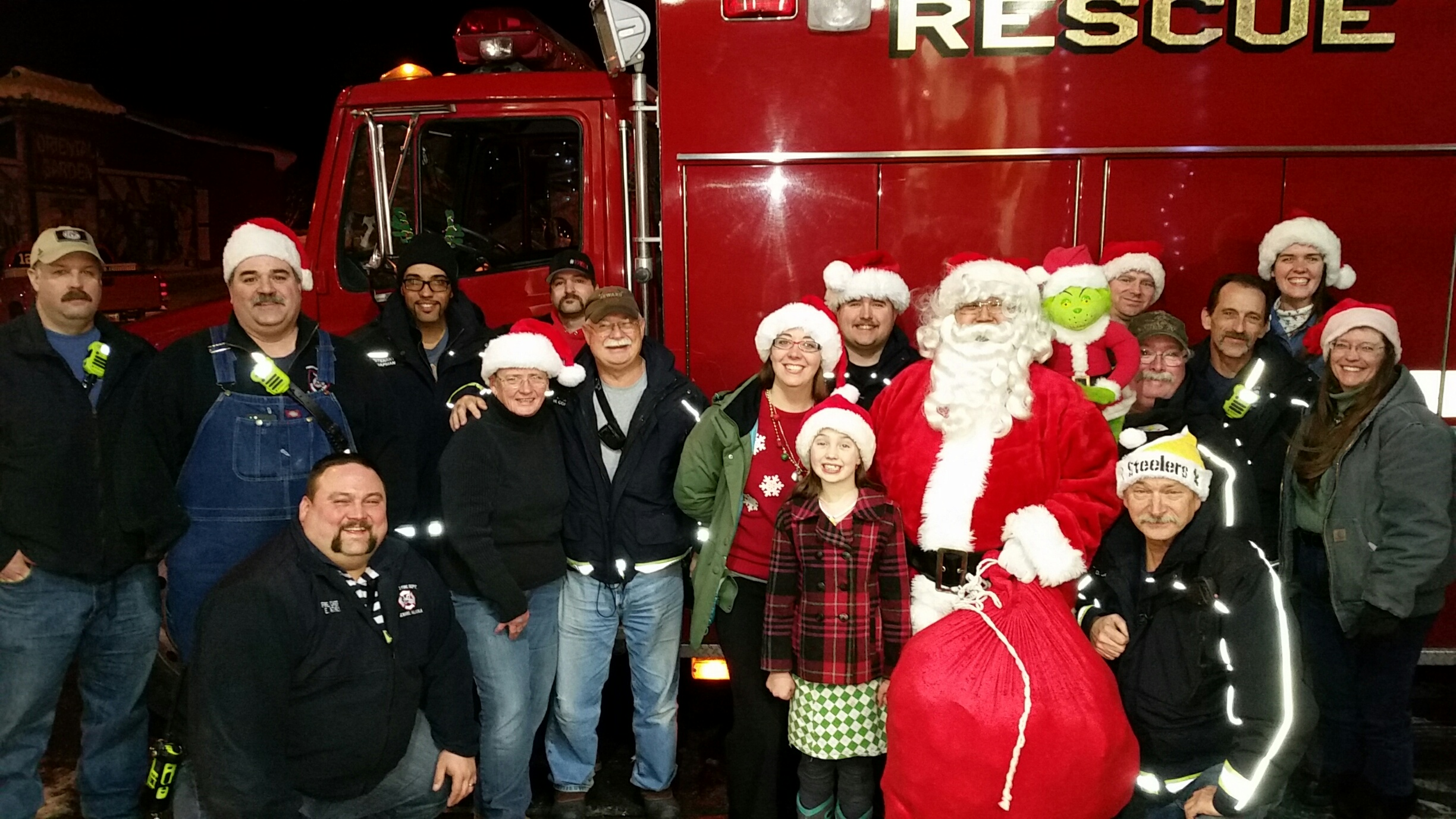 2015 Angel Tree Delivery Crew