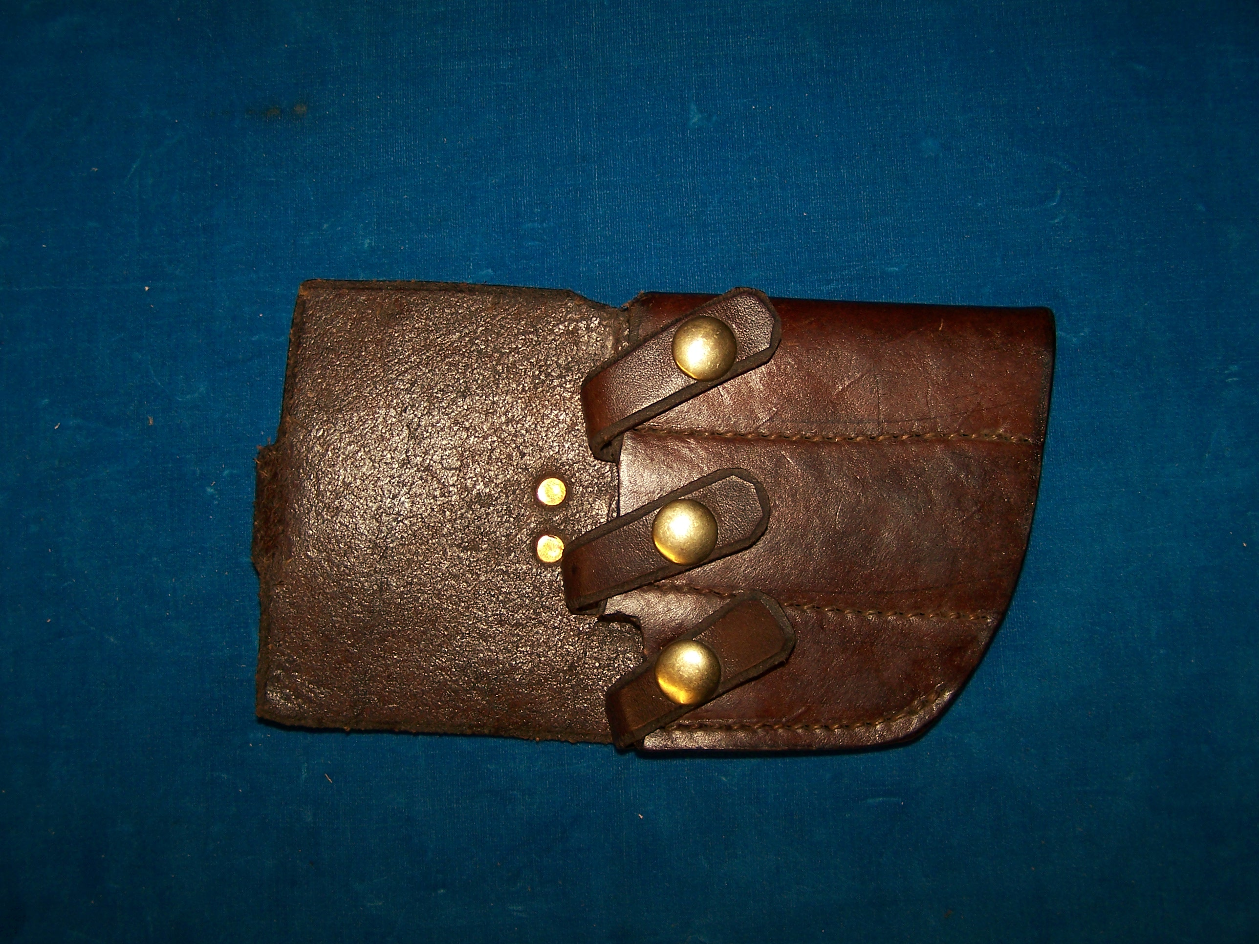 Custom 3-knife sheath