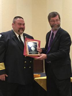 Chief Eddie Athey & Fire Marshal