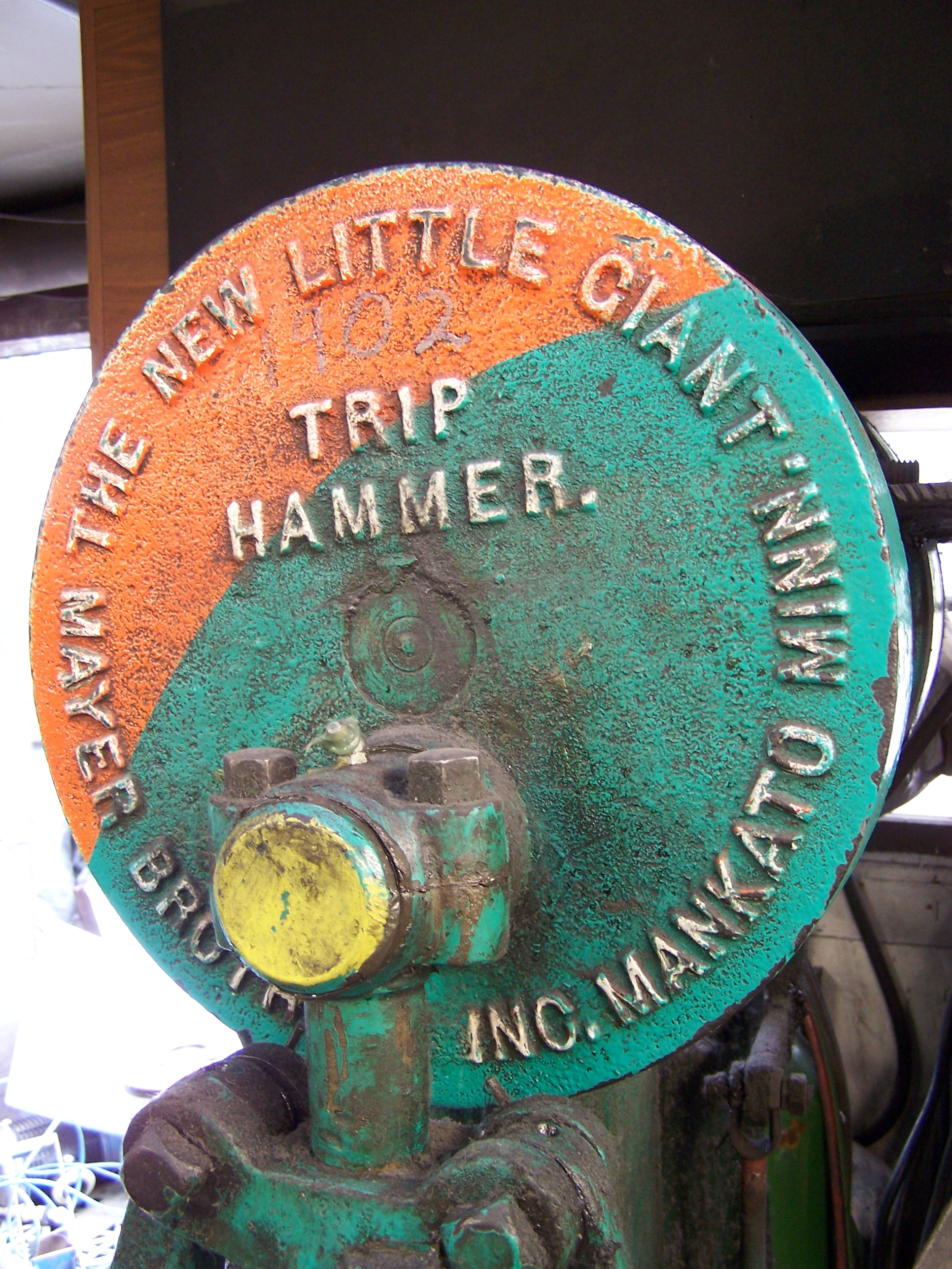 Little Giant trip hammer