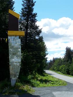 Landmark IRBI Knife sign @ 20 mile