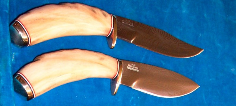 IRBI Knives w/ Dall sheep handles