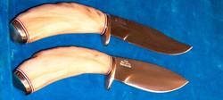 IRBI Knives w/ Dall sheep handles