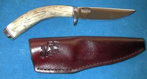 Moose antler IRBI Knife