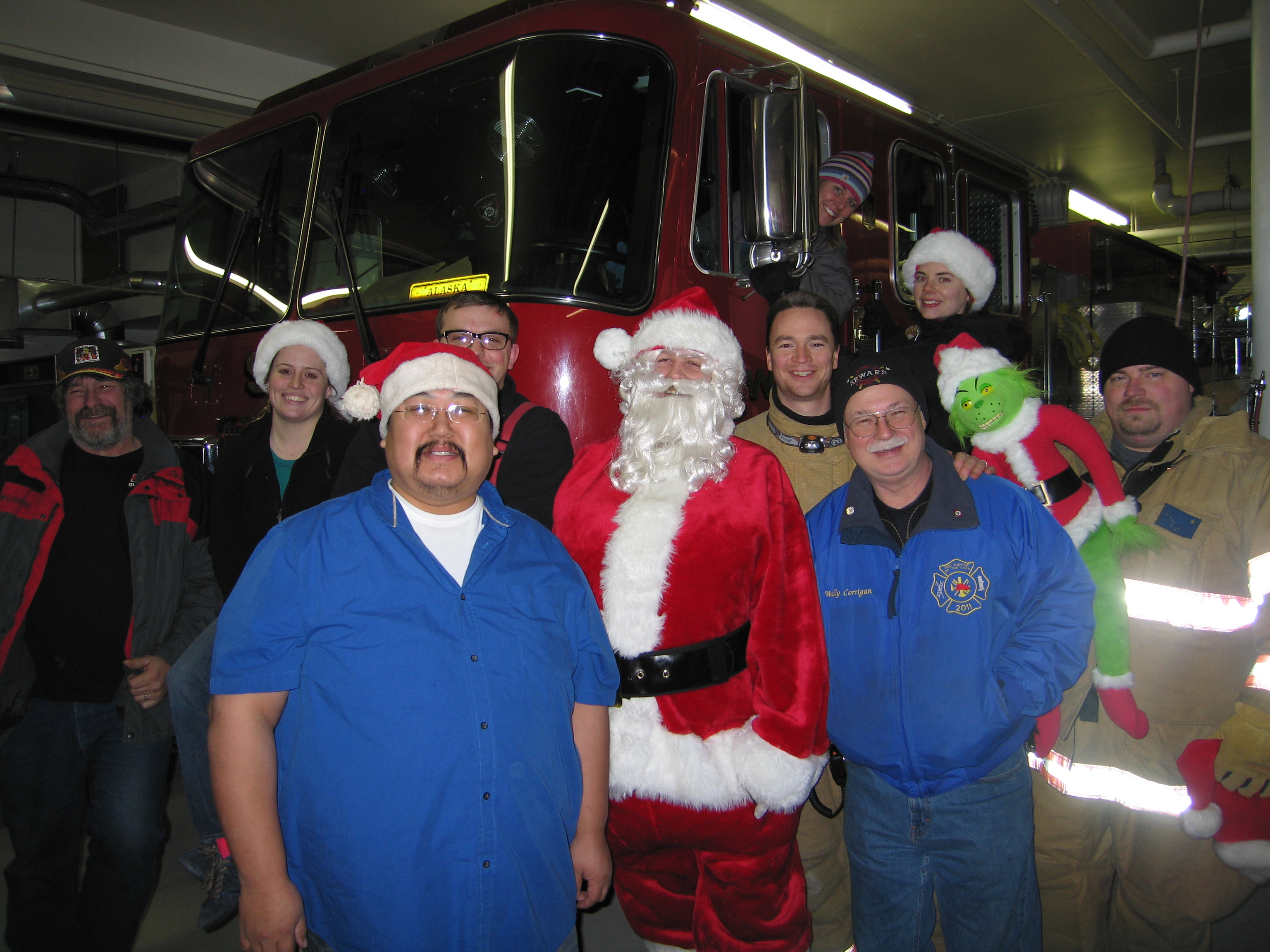 Angel Tree delivery crew 2012