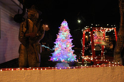 HAAM's holiday light show
