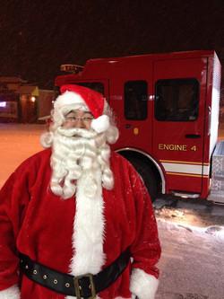 Santa's ready for his sleigh ride