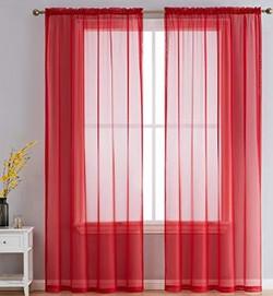 Red Sheer Panels