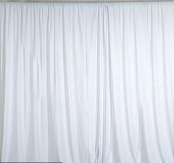 Polyester White Drapes