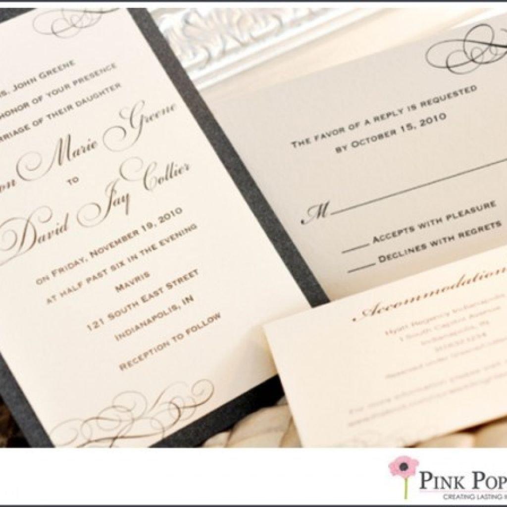Invitations, RSVP's & Programs