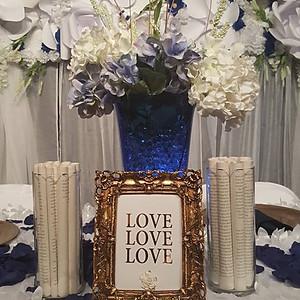 Mr. & Mrs. Glover Wedding Reception