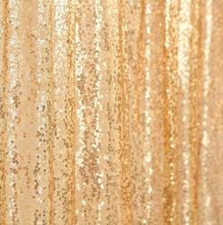Gold Sequin Drape