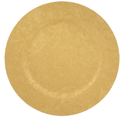 Gold Embossed Floral Charger Plate.PNG