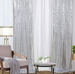 Silver Sequin Panels