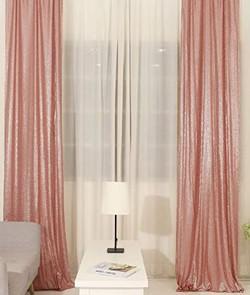 Blush Pink Sequin Panels