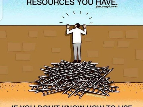 It's like you search Google, I lot of resources but you don't know how to help you. True?