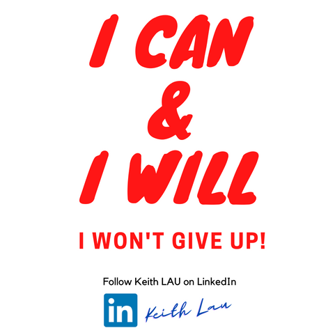HI #jobseekers, Never Give Up!