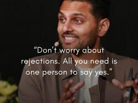 Rejection is Redirection. What do you think? 👇